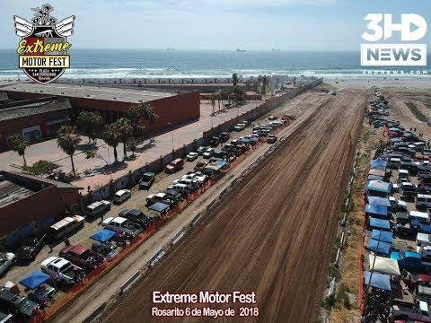 Sand Drags en el Extreme Motor Fest
