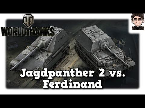 World of Tanks - Jagdpanther 2 & Ferdinand, welcher ist der Richtige für mich? [deutsch   Review]