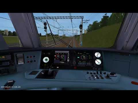 [Trainz 2012] Москва -Апрелевка на ЭД4М