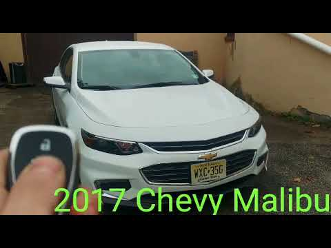 2017 Chevy Malibu Push To Start Remote System