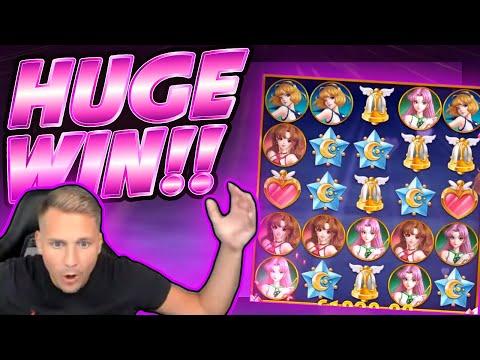 HUGE WIN!! Moon Princess BIG WIN!! Online Slot from CasinoDaddy Live Stream - 동영상