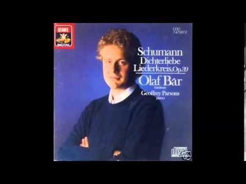 Schumann - Dichterliebe, op.48, Bär, Parsons