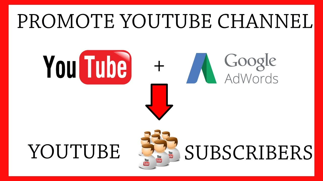 Image result for Promote your channel with ad words