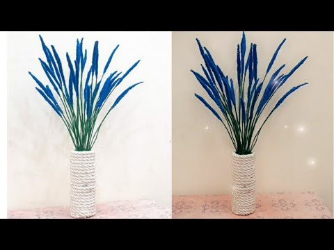 showpiece-making-at-home-||-decorative-for-home-decor-||-flower-vase
