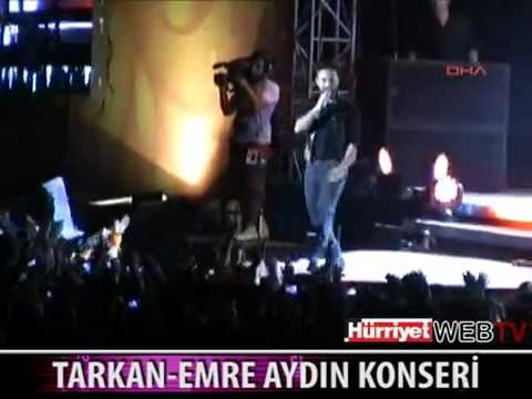 Megastar Tarkan ve Emre Aydin'dan Muhteşem Konser