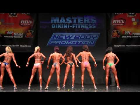 TOP6 Finale - Masters Bikini Fitness -Int. Deutsche Junioren & Masters 2016