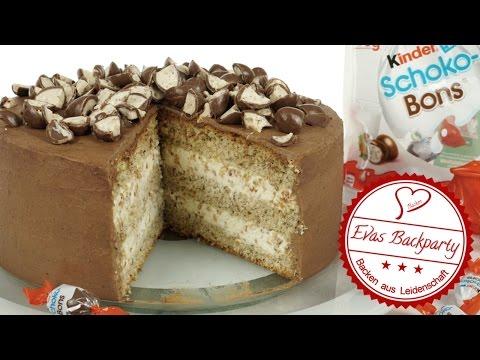 Kinder Schoko Bons Torte Schokobons Torte Geburtstag Backen
