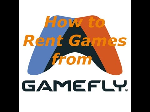 How To Rent Games From Gamefly