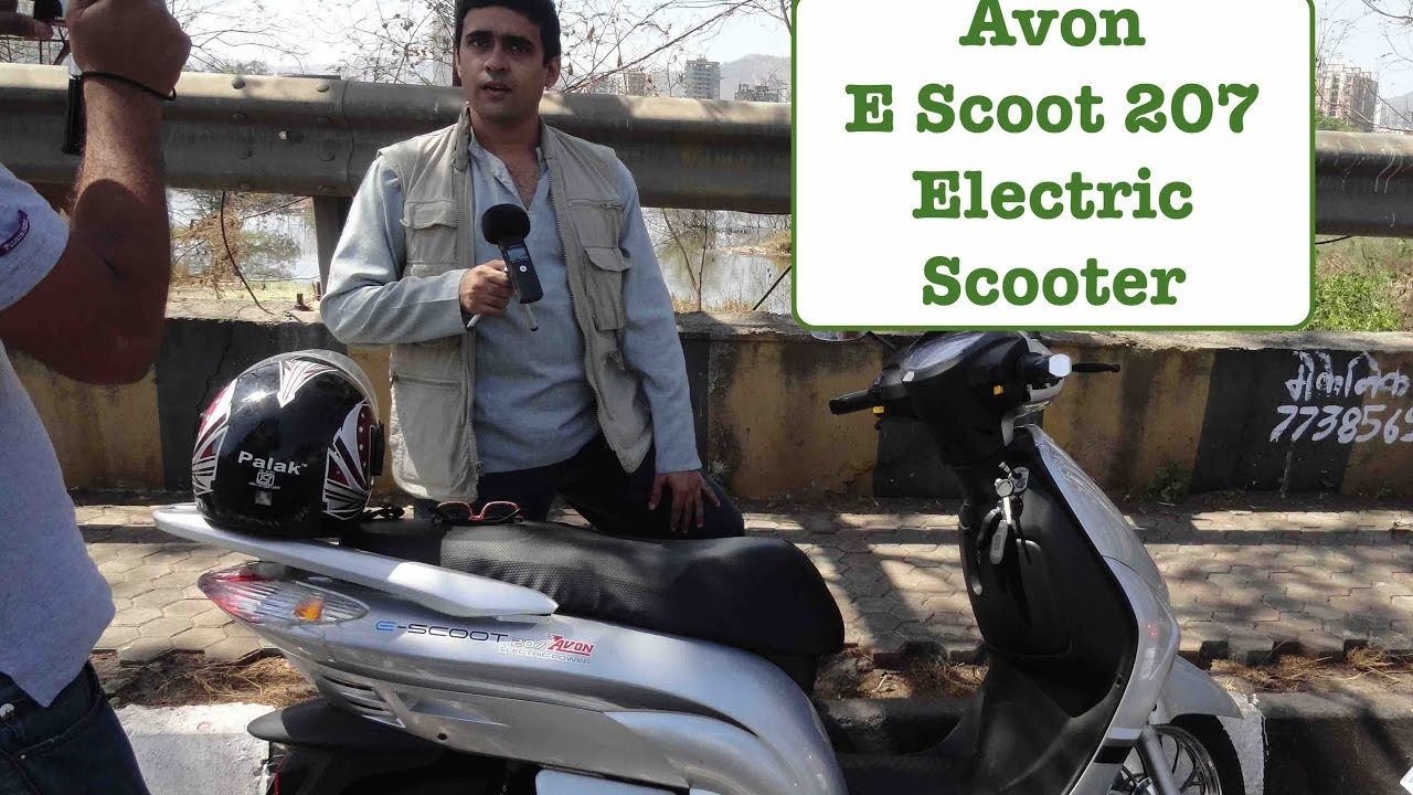 1c63b55bf3b Avon E Scoot 207 111 - Electric Scooter Review - YouTube