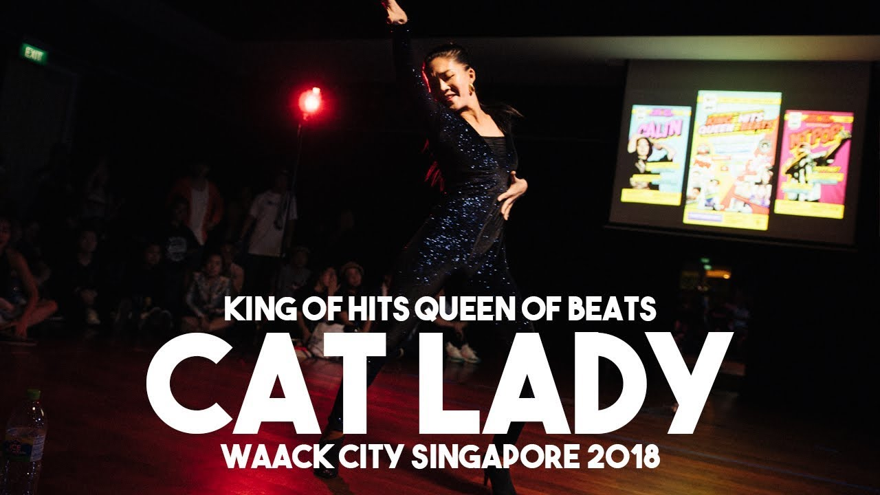 Cat Lady (SG) | Judge Showcase | King of Hits Queen of Beats (Pop x Waack City Singapore 2018)