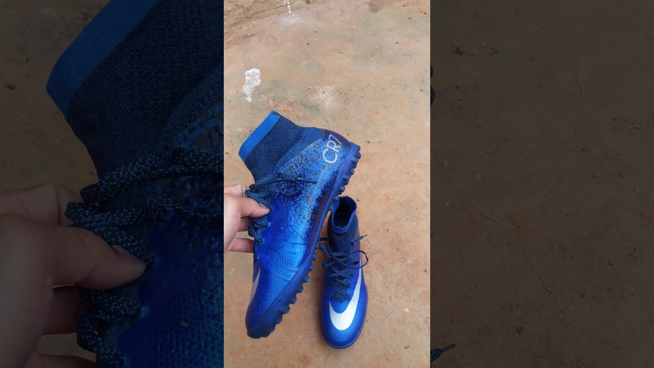 Nike mercurial x CR7 society loja Aliexpress - YouTube 16ffb74a39641
