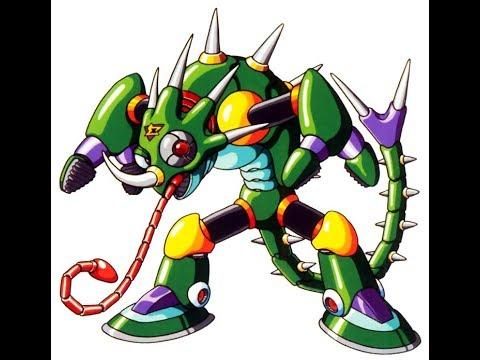 Mega Man X - Sting Chameleon (Mega Man X2 Style)