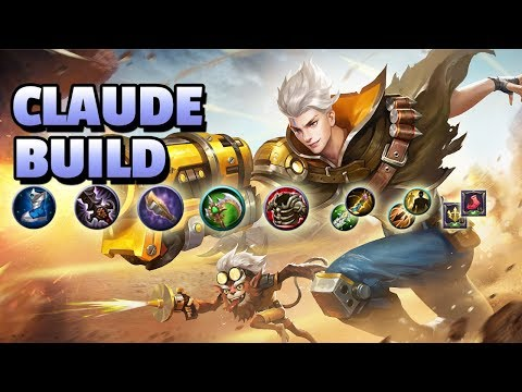 CLAUDE ITEM BUILD, BATTLESPELL AND TALENTS