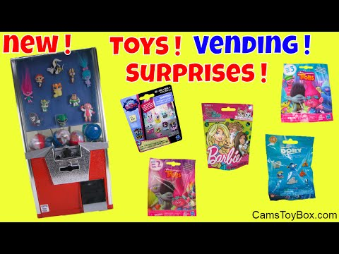 Toys Vending Machine Surprises Trolls...