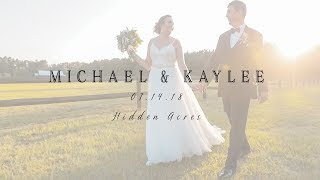 Hidden Acres Wedding Feature Film | Michael & Kaylee, Marion, SC.