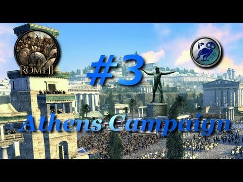 Total War: Rome II-Athens Campaign #3~Why Ardiaei?