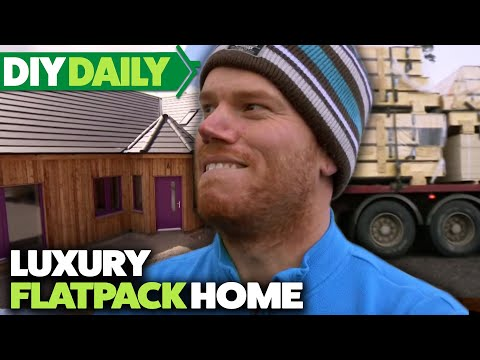 Building a FLATPACK House   The House That £100K Built   S02 E02   Home & Garden   DIY Daily