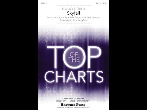 Skyfall (SATB) - Arranged by Paul Langford