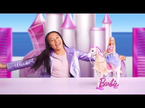 Barbie ® Princess Adventure™ Prance & Shimmer™ Horse