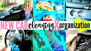 MY NEW CAR!!! | DIY CAR CLEANING & ORGANIZATION TIPS