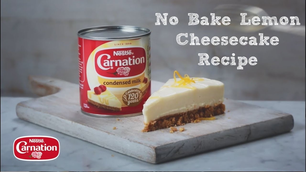 No Bake Lemon Cheesecake Recipe Carnation