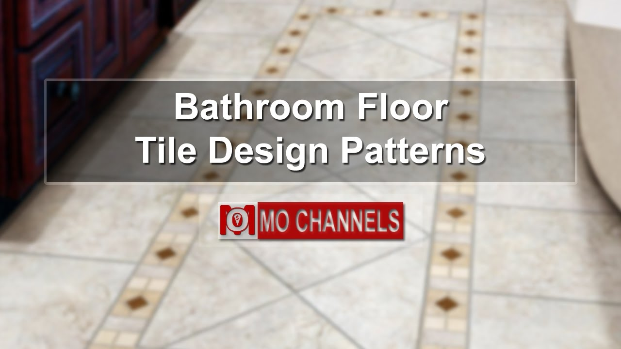 40 best bathroom floor tile design patterns design ideas youtube dailygadgetfo Image collections