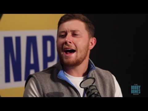 """Scotty McCreery Performs """"Five More Minutes"""" on the Bobby Bones Show"""