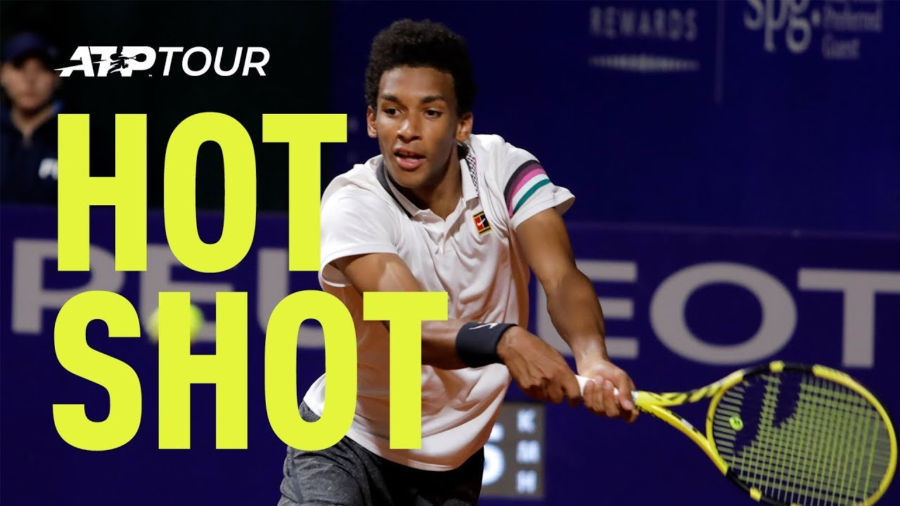 Auger-Aliassime Rips Courageous Forehand in Buenos Aires 2019