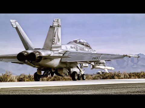 Fighter Jet Training At Naval Air Station Fallon