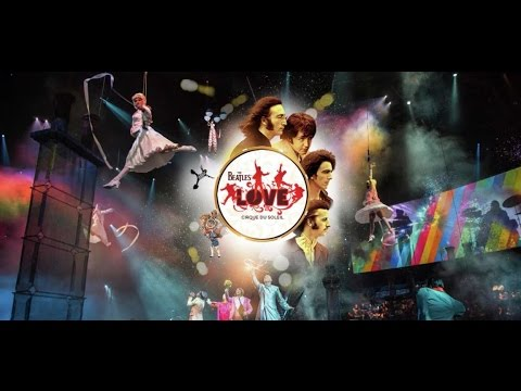 The beatles love by cirque du soleil - the mirage hotel and casino casey roulette sdsu