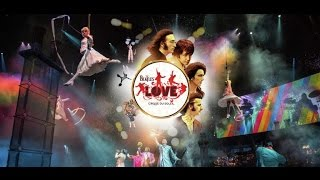Video The Beatles LOVE Review Mirage Cirque Du Soleil download MP3, 3GP, MP4, WEBM, AVI, FLV Agustus 2018
