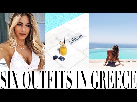 WHAT I WORE ISLAND HOPPING IN GREECE | Lydia Elise Millen