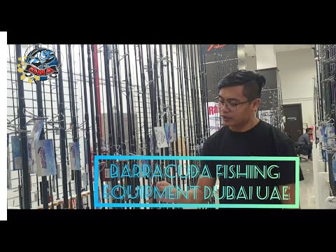 THE BIGGEST FISHING TACKLE IN DUBAI