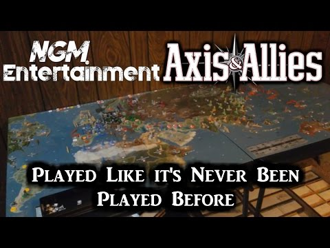 Axis & Allies | A Way it's Never Been Played Before!! | 18 Nations - 1 Game Board!!