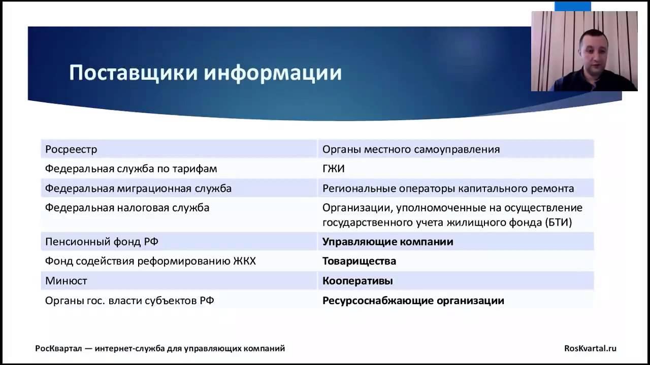 Вся правда о ГИС ЖКХ - Вебинар РосКвартала