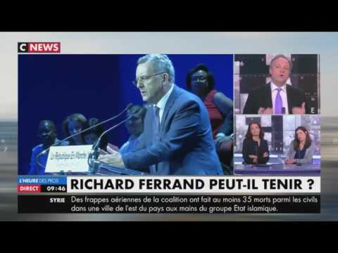 « Si le Canard Enchaîné fait encore des révélations sur Richard Ferrand, c'est terminé »