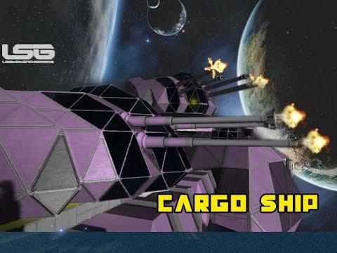 space engineers cargo ship - photo #24