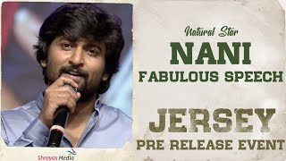 Natural Star Nani Fabulous Speech At #Jersey Pre Release Event