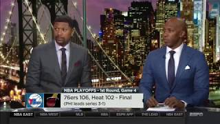 NBA Countdown: 76ers Take 3-1 Lead On Miami Heat | April 21, 2018