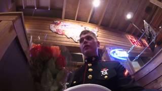 Marine Surprises Mom For Her Birthday