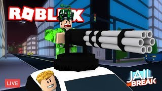 😃 ROBLOX JAILBREAK LIVE STREAM! 😃 | JOIN UP AND PLAY!! | ROBLOX Live🔴