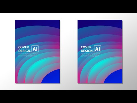 Design a Simple Cover in Adobe Illustrator thumbnail
