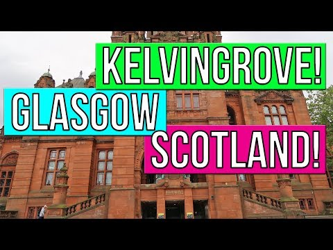 KELVINGROVE ART GALLERY AND MUSEUM! GLASGOW SCOTLAND TRAVEL