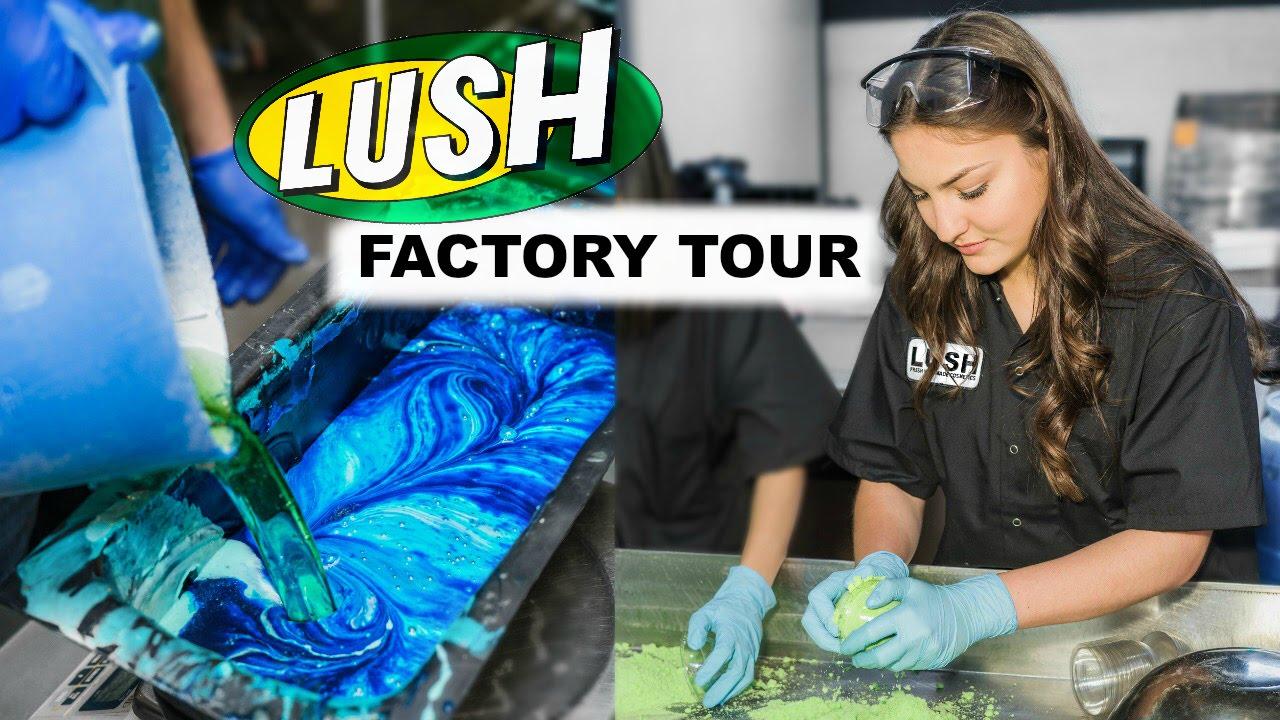 Lush Factory Tour Youtube