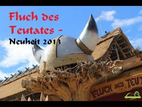 Fluch des Teutates @ Freizeitpark Plohn (NEU 2013) + Interview