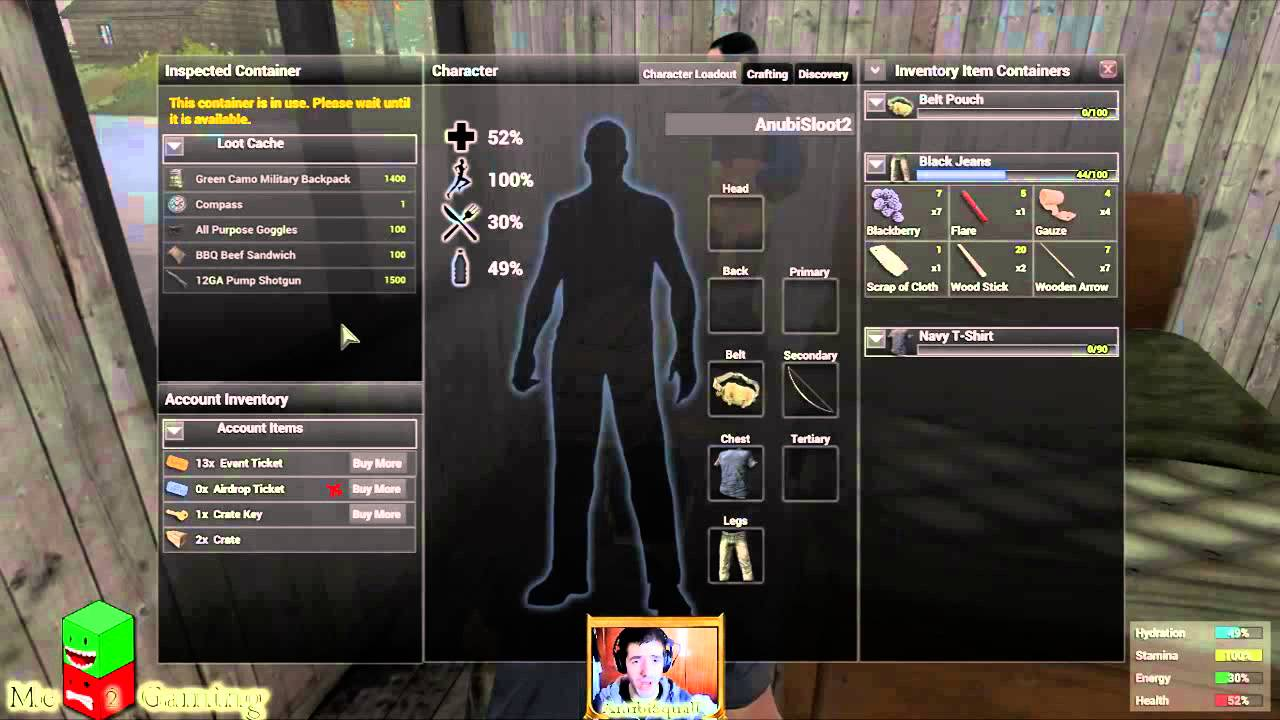 h1z1 a worm letter tess quest cache youtube