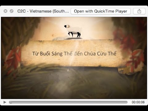 C2C Vietnamese (South) - by Creation to Christ video #NoPlaceLeft
