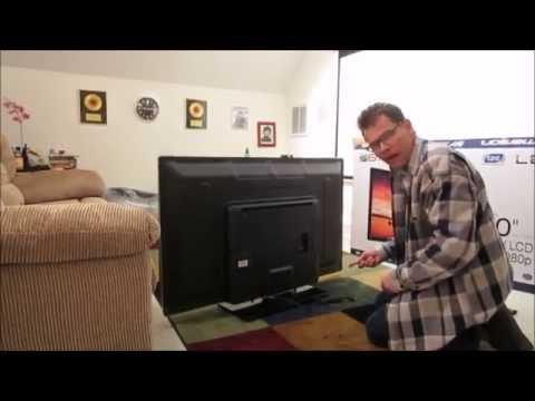 Unboxing, setup, and short review Walmart Black Friday 2014, 50 Emerson LF501EM5F 1080p TV