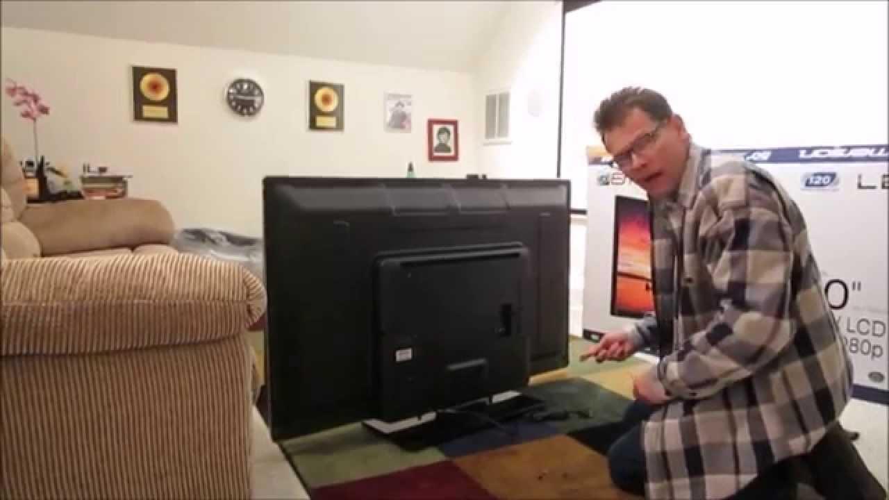 unboxing setup and short review walmart black friday 2014 50 emerson lf501em5f 1080p tv. Black Bedroom Furniture Sets. Home Design Ideas