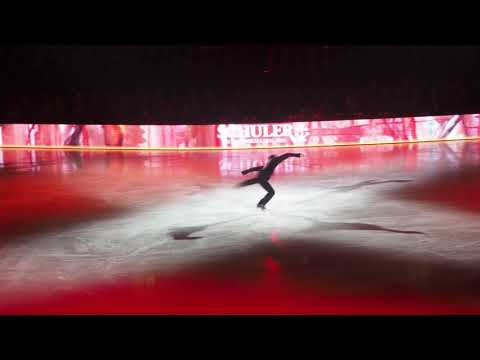 Stéphane Lambiel at the Opening Night of Art On Ice Zurich 2018